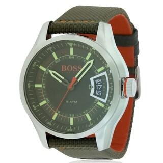 Hugo Boss Textile Strap male Watch 1550016