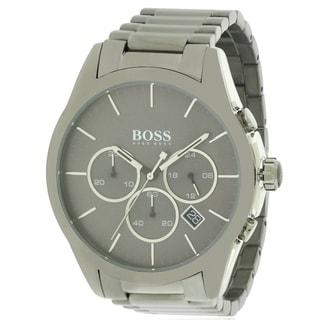 Hugo Boss stainless Steel Chronograph male Watch 1513364