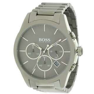 Hugo Boss stainless Steel Chronograph male Watch 1513364