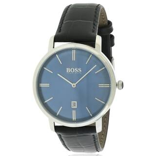 Hugo Boss Classic Leather male Watch 1513461|https://ak1.ostkcdn.com/images/products/17739705/P23942112.jpg?impolicy=medium