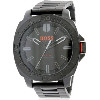 Hugo Boss Orange Paris Black PVD Stainless Steel male Watch 1513241