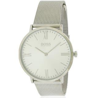 Hugo Boss Jackson Steel Mesh male Watch 1513459|https://ak1.ostkcdn.com/images/products/17739735/P23942128.jpg?impolicy=medium