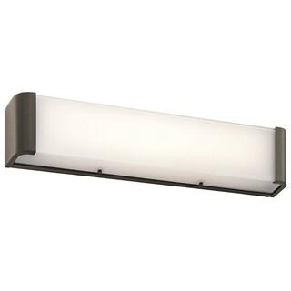 Kichler Lighting Landi Collection 24-inch Olde Bronze LED Bath/Vanity Light