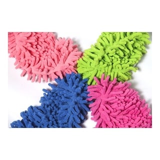 Microfiber Chenille Mop Slippers (1-Pair)