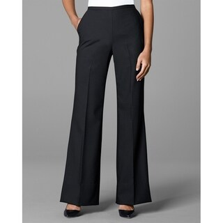Twin Hill Womens Pant Black Performance Wide Leg