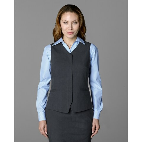 Twin Hill Womens Vest Charcoal Performance Fly Front