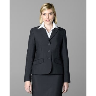 Twin Hill Womens Jacket Charcoal Performance 3-button