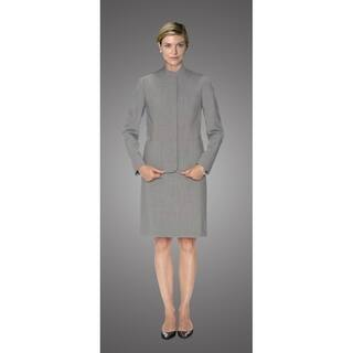Twin Hill Womens Jacket Grey Heather Performance Fly Front https://ak1.ostkcdn.com/images/products/17739816/P23942324.jpg?impolicy=medium
