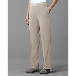 Twin Hill Womens Pant Khaki Performance Flat Front