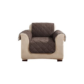 Sure Fit Flannel And Sherpa Recliner Cover Free Shipping