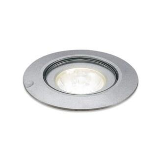 Bruck Lighting Ledra 12C (3000K) LED Matte Chrome 30-degree Lens Recessed In Ground Light