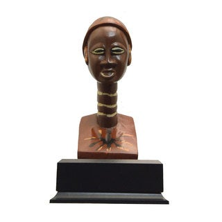 Handmade Multicultural Trophy & Recognition Award - Distinguished Woman (Ghana)