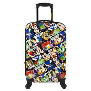Loudmouth Crak! 22-inch Expandable Carry-On Hardside Spinner Suitcase