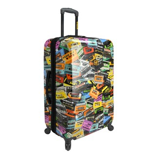 Loudmouth Party Mix 29-inch Expandable Hardside Spinner Upright Suitcase