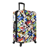 Loudmouth Crak! 29-inch Expandable Hardside Spinner Upright Suitcase