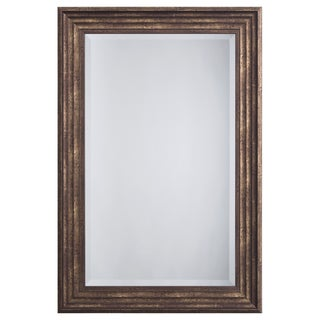 Bronze Framed Accent Mirror - Antique Bronze