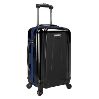 U.S. Traveler USB Port EZ-Charge 22-inch Hardside Carry-On Spinner Suitcase
