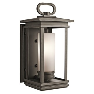 Kichler Lighting South Hope Collection 1-light Rubbed Bronze Outdoor Wall Sconce