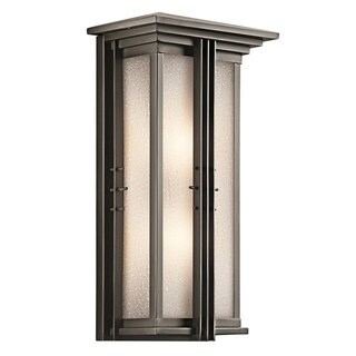 Kichler Lighting Portman Square Collection 2-light Olde Bronze Outdoor Wall Lantern