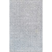 Pasargad Transitiona Ivory Hand-Loomed Polyester & cotton Rug (5' X 8')