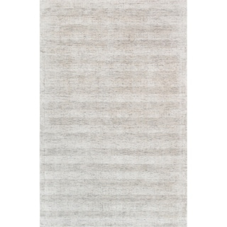 Texture Transitiona Collection Hand-Loomed Bamboo Silk Rug (5' X 8')