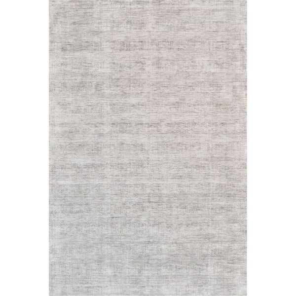 Texture Hand-Loomed Transitiona Bamboo Silk Area Rug (5' X 8')