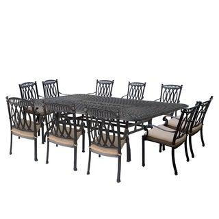Oliver & James Almada 11-piece Outdoor Stackable Dining Set