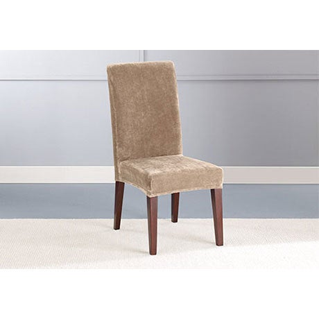 Sure Fit Stretch Plush Short Dining Room Chair Slipcover On Free Shipping Orders Over 45 17740788