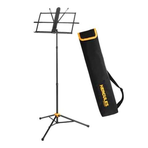 Hercules - BS118BB - 3-Section Music Stand w/Bag