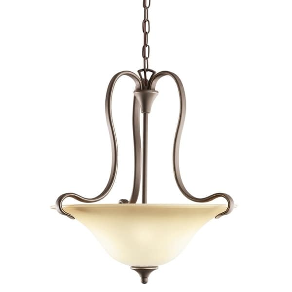 Kichler Lighting Wedgeport Collection 2-light Olde Bronze Pendant