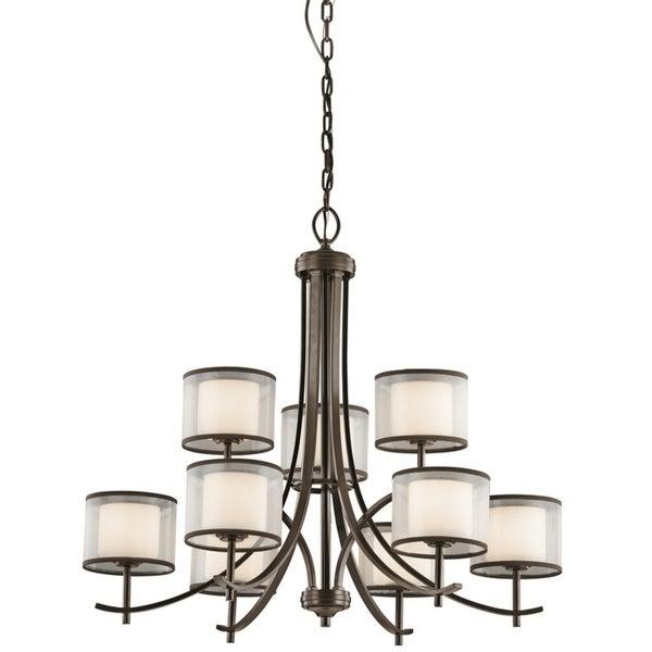 Kichler Lighting Tallie Collection 9-light Mission Bronze Chandelier