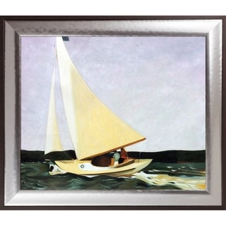 Edward Hopper 'Sailing, 1911' Hand Painted Oil Reproduction