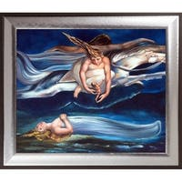 William Blake 'Pity, 1795' Hand Painted Oil Reproduction