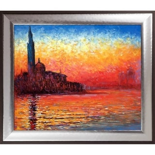 Claude Monet 'San Giorgio Maggiore by Twilight' Hand Painted Oil Reproduction
