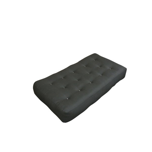 feathertouch i black duct 7 inch futon mattress feathertouch i black duct 7 inch futon mattress   free shipping      rh   overstock