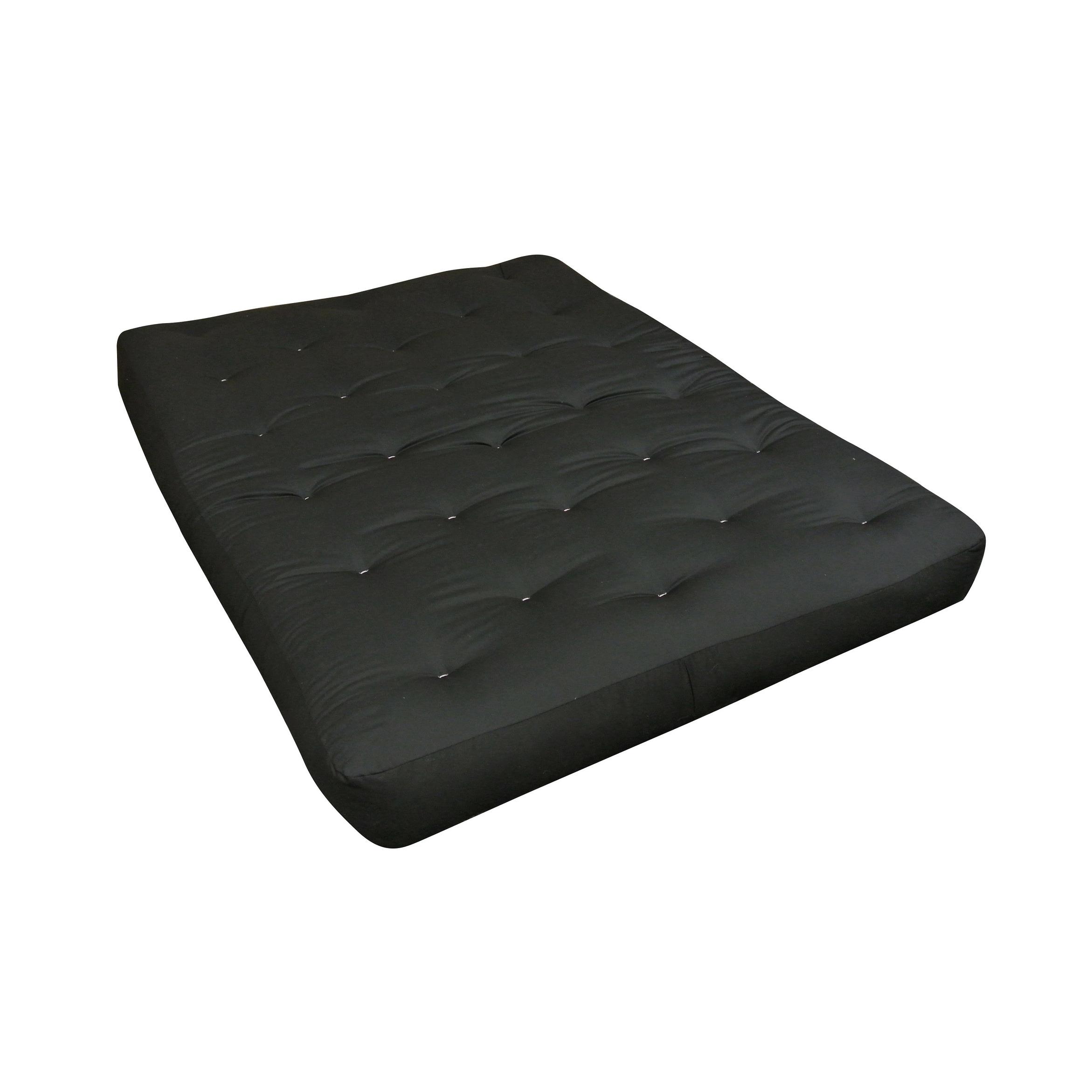 Cotton Cott Size 30x75 Black Duct Futon