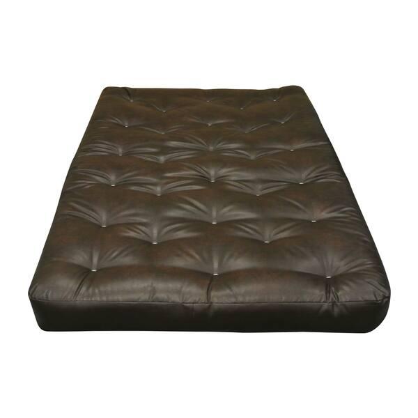 Cotton Cott Size 30x75 Leather Futon