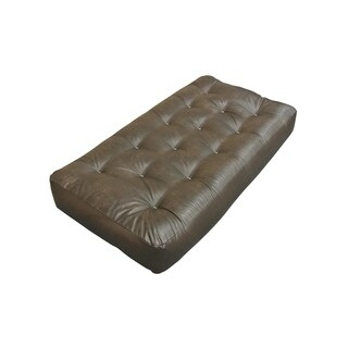 "9"" Triple Foam And Cotton Chair Leather Futon Mattress"