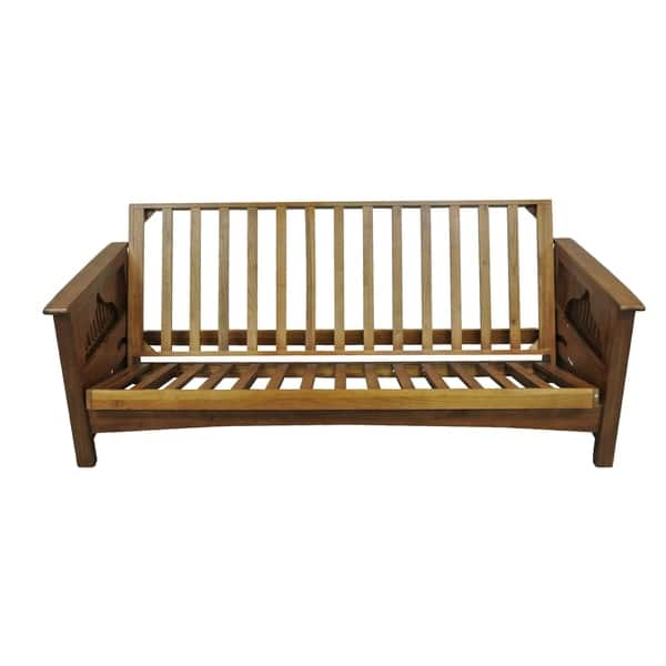 Burlington Cherry Oak Full Futon Frame