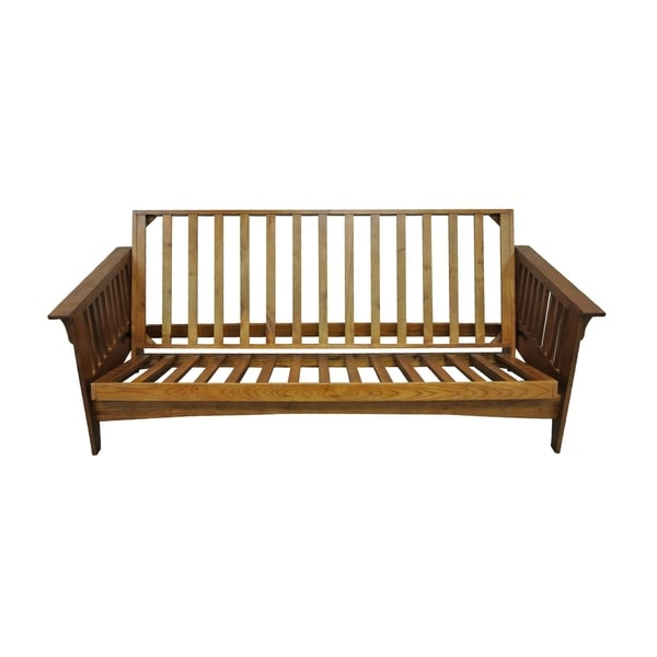 Boston Cherry Oak Queen Futon Frame
