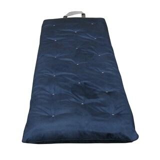 "3"" Overnighter Blue Microfiber Futon Mattress"