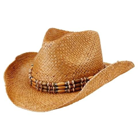 San Diego Hat Company/Womens Core/Cowboy - natural