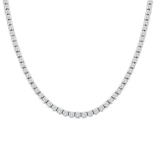 Auriya 14k Gold 9ct TDW Round Diamond Tennis Necklace (H-I, SI1-SI2) - White H-I|https://ak1.ostkcdn.com/images/products/17743472/P23945454.jpg?impolicy=medium
