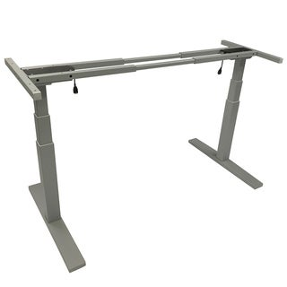 Boonliving Electronic Height Adjustable Desk Frame, Sit / Stand Desk Ergonomic Workstation with Dual Motor, Heavy Duty