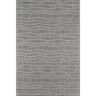 Novogratz by Momeni Emilia Indoor/ Outdoor Grey Wavy Pattern Flatweave Rug (See Available Sizes) (3 options available)