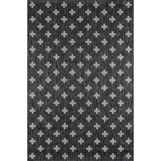 "Novogratz by Momeni Umbria Geometric Star Pattern Indoor/Outdoor Rug (6'7 x 9'6) - 6'7"" x 9'6"""