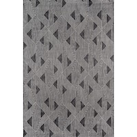 Novogratz by Momeni Villa Como Charcoal Indoor/Outdoor Rug