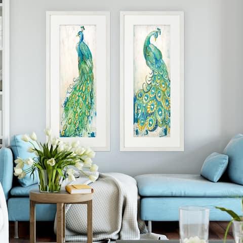 Gracieux Peacock -2 Piece Set