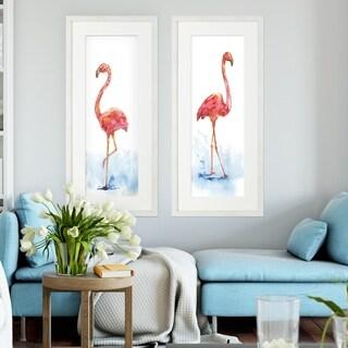 Flamingo Splash -2 Piece Set