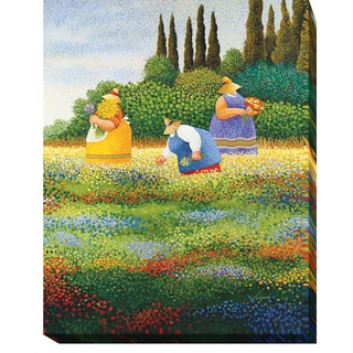 Spring Gathering by Lowell Herrero Gallery-Wrapped Canvas Giclee Art